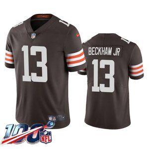 Browns Odell Beckham Jr Brown Jersey